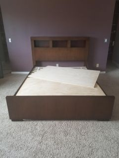 Brown wood Coaster Jessica Bookcase Bed