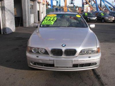 2002 BMW 5-Series 540i (Silver)