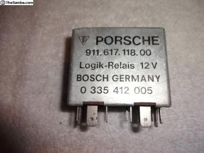 Porsche 911 912 914 Seat Belt Relay 12V 14 Pin