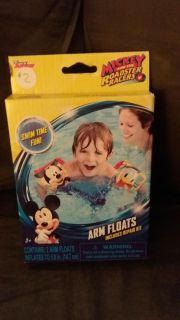 Friday only price drop item! New! Mickey and the roadsters arm floats