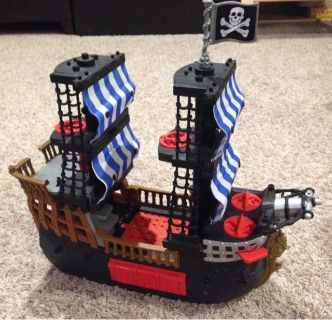 imaginext pirate ship fisher price