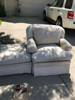 FREE chair and ottoman