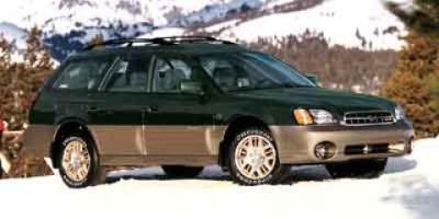 2002 Subaru Outback VDC (BLACK)