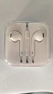 Apple earbuds. Brand new!