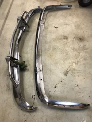 Bumpers for Karmann Ghia 67? Front and Rear
