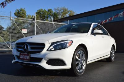 2015 Mercedes-Benz C-Class 4dr Sdn C300 Sport 4MATIC (White)