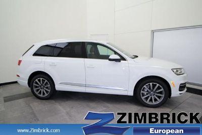 2018 Audi Q7 3.0 TFSI Premium Plus (Carrara white)