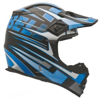 Sell Bell MX-2 Motocross Helmet Breaker Blue Size X-Small motorcycle in South Houston, Texas, US, for US $99.72