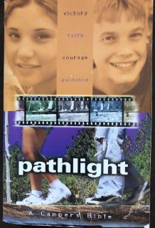 Pathlight a campers Bible teen book in euc $1