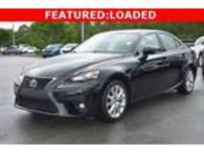 used 2016 Lexus IS for sale.