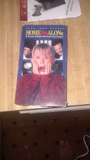 Home Alone VHS Movie.