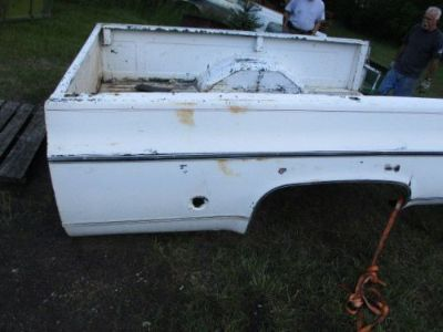Purchase I WILL SHIP RUST FREE 1973-87 CHEVY,GMC, PICKUP TRUCK LONG BED IN WIS RAT ROD motorcycle in Wautoma, Wisconsin, United States, for US $400.00