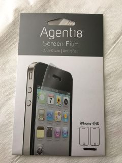 Agent18 Screen Protector iPhone 4 / 4s