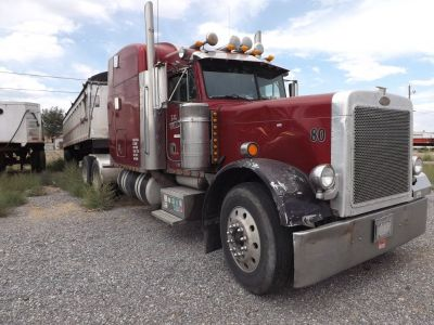 2000 Peterbilt 379 and End Dump