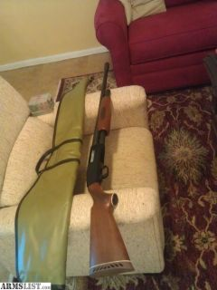For Sale/Trade: MOSSBERG 500 AB ,12 GA. ,PUMP, FIRED ONCE ,44 YRS. OLD ,PERFECT