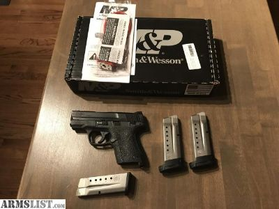 For Sale: Smith and Wesson M&P Shield 9mm