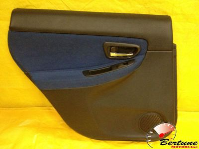 Find 05-07 Subaru STI LH rear door panel with switches and handle. Door card. Trim motorcycle in Miami, Florida, US, for US $74.99