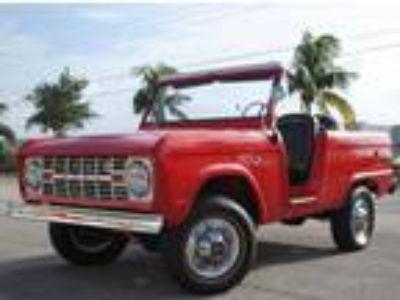 1967 Ford Bronco U13 Roadster Full Restoration