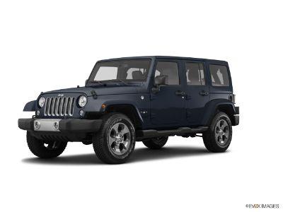 2017 Jeep Wrangler Unlimited SAHARA 4X4 (Rhino Clearcoat)