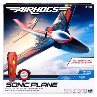 New Air Hogs - Sonic Plane High-Speed Flyer with Real Motor Sounds
