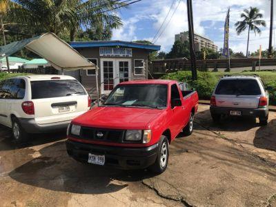 2000 Nissan Frontier XE (Aztec Red)