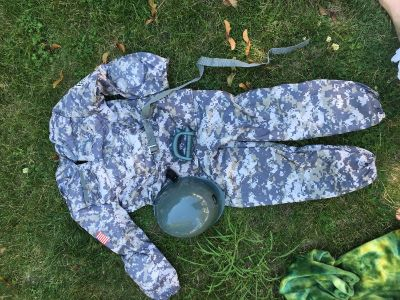 Boys size 7 army costume
