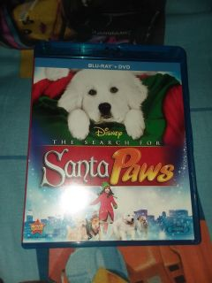 The Search For Santa Paws Bluray+Dvd No Holds
