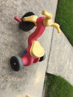 Fisher price pedal ride on bike