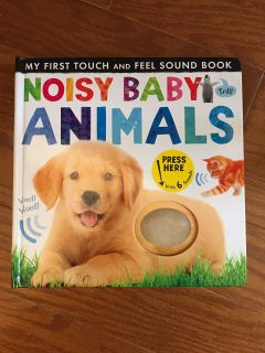Kids touch, feel and listen book