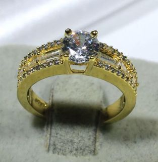 $55 OBO 18K yellow gold filled ring. New in box !Size 7 and 8. BRAND NEW. Retail