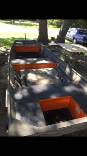 Good condition boat and trailer