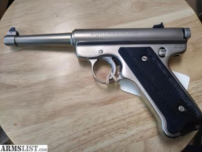 For Sale: Ruger stainless mk I