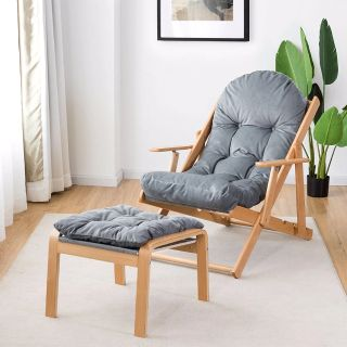 Folding Recliner Adjustable Lounge Armchair