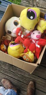 Box of New stuff toys. 10.00 for all