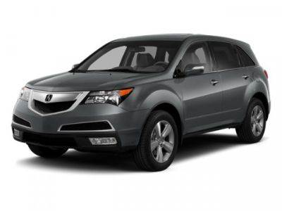 2013 Acura MDX Base w/Tech (White)