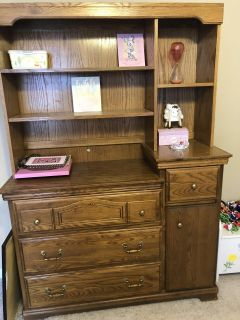 Dresser Hutch Combo (changing table)