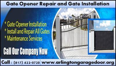 Emergency Gate opener Repair | Garage Door Repair | Arlington, Houston