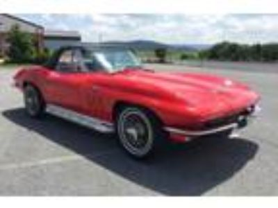 1966 Chevrolet Corvette Convertible 327Ci-300Hp