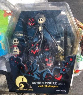 Series 1 The Nightmare Before Christmas Jack Skellington Action Figure