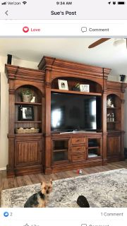ISO Entertainment Center that is similar to this