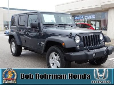 2017 Jeep Wrangler Unlimited Sport (Black Clearcoat)