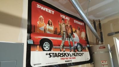 Starsky and Hutch Vinyl Movie Poster - Gran Turino - Man Cave or Garage