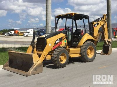 2011 Cat 416E 4x4 Backhoe Loader