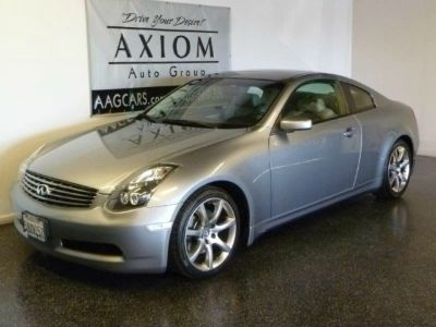 2005 Infiniti G35 Coupe Premium Performance Wheel and Tire