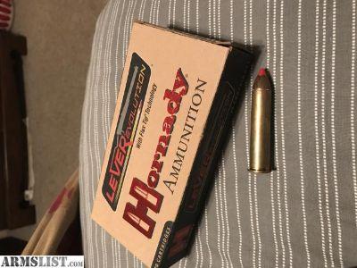 For Sale: Hornady 45-70 ammo