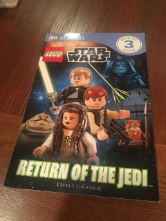 Lego Star Wars Return of the Jedi paperback - code MS