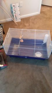 Pet cage for rabbit, guinea pig, chin chilla..