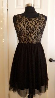 Gold and black sparkly dress