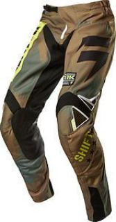 Buy Shift Strike Army Mens MX/Offroad Pants Camo/Brown/Black 28 USA motorcycle in Holland, Michigan, United States, for US $85.34