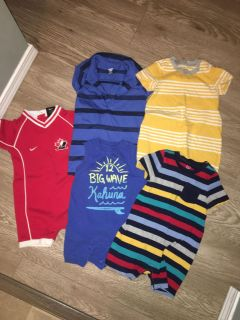 Summer rompers 12-18 months